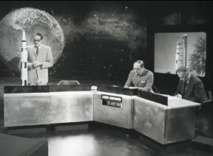 The BBC's Apollo 11 Studio.