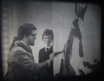 Rolf Harris Creates A Painting