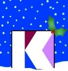Kaleidoscope Christmas Logo
